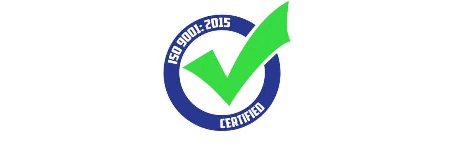 Certificato ISO 9001:2015 - EN